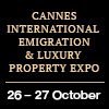 Cannes International Emigration & Luxury Property Expo - 2017, 26 - 27 October, Cannes